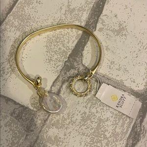 Kendra Scott Pinch Cuff Bracelet in Gold